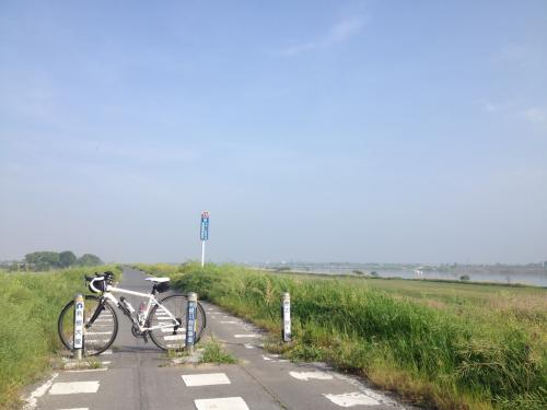 ちいさな自転車旅 荒川CR(糠田橋)~利根川CR(渋川)