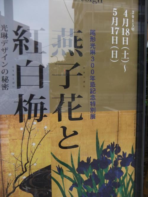 燕子花と紅白梅(国宝)を見に根津美術館を訪ね、庭のかきつばたをみてきました