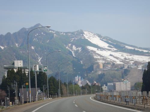 2015GW 東北ドライブ 【1】 出発、新潟経由で山形・あつみ温泉へ