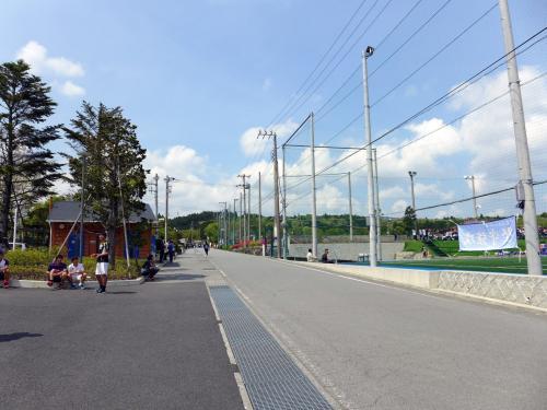 GW中半のサッカー観戦 FCヴァーデュア三島2年生 VS  JFA U16女子日本代表候補 練習試合