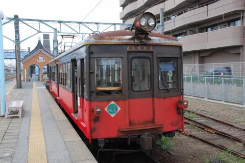 紫陽花ロードを走る銚子電鉄 2010(千葉)