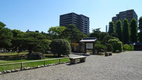 旧徳島城表御殿庭園 観賞 上巻