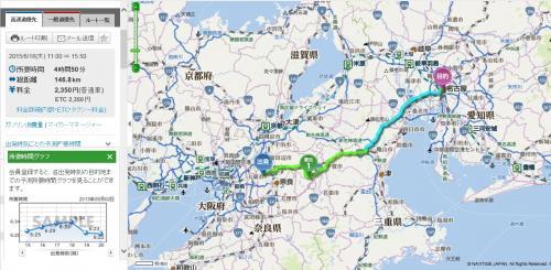 2015年 奈良⇔名古屋 車で一人旅(月ヶ瀬温泉~タイフェスティバル 名古屋)