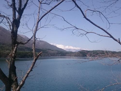 自転車で仁科三湖(青木湖,中綱湖,木崎湖)を巡る