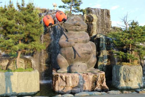 小松島ステーションパークで金長大狸に化かされる