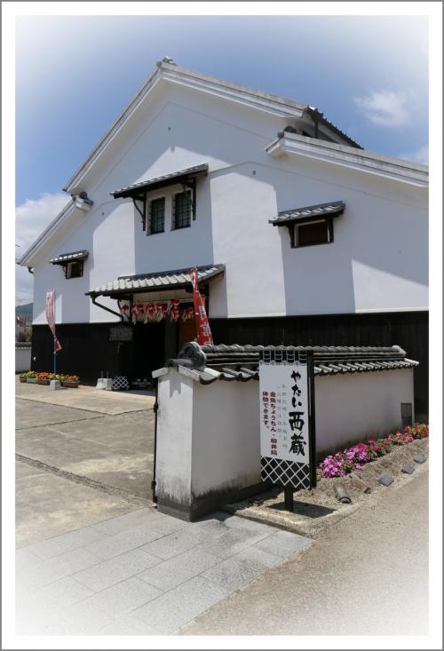 Solitary Journey [1611] 西蔵&柳井にかつてあった古い建築物を陶板画で楽しむことができます。<麗都路(レトロ)通り>山口県柳井市