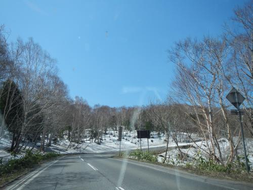 志賀高原の美しい残雪風景◆2015GW・群馬県&長野県の滝めぐり≪その2≫