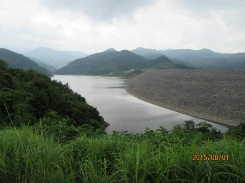 北秋田市森吉、太平湖・小又峡