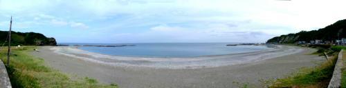 美しい檜山の日本海岸