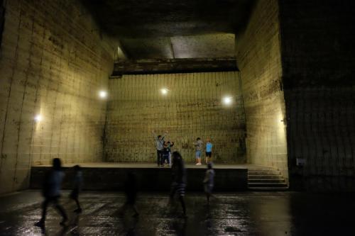 地底探検 気温12℃ 大谷資料館 下