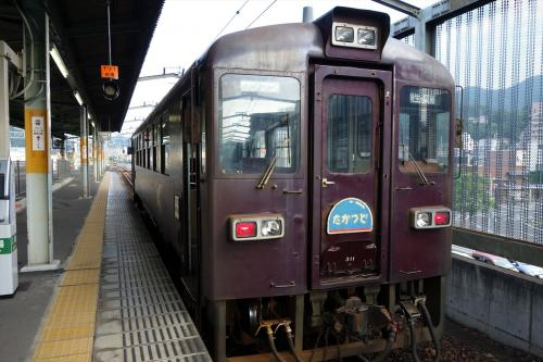 足尾銅山廃墟と廃村松川村をわたらせ渓谷鐵道で訪ねる