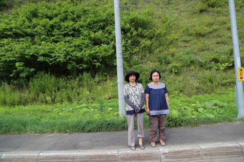 夕張から452号・道道135号を通り富良野・美瑛を過ぎ天人峡温泉に泊まる