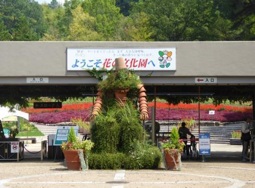 秋を探しに 「花の文化園」へ!  9月は 秋の七草・サルビア、そして・・・