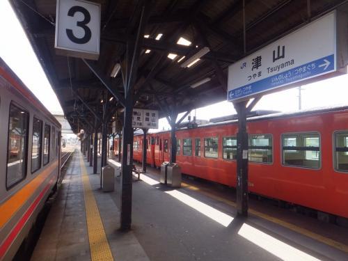 2015 神戸アウェイと18きっぷ乗りつぶし【その5】姫新線と吉備線乗りつぶり