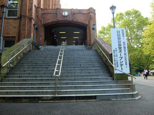 日比谷公会堂 改築前 最期の一般公開 上