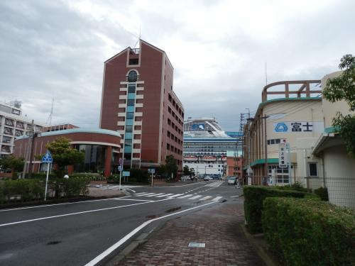 清水港にて、2006年「初クルージングの旅」で乗船したサファイアプリンセス号と再会する!
