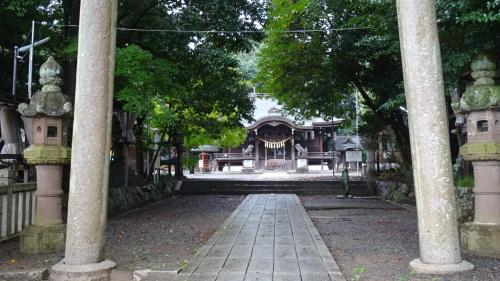 湖東・湖北・若狭・丹波の庭園紀行(75) 一宮神社の参拝。