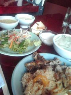 ☆Thailand  Lunch  Buffet-style meal☆
