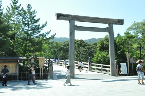 伊勢神宮おかげ参りの後、おはらい町を散策