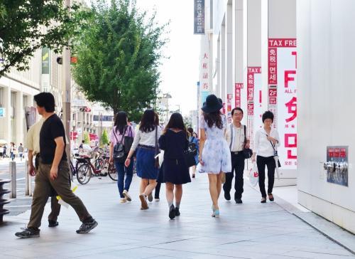 新宿から銀座へ、行き当たりばったりのショッピング デー