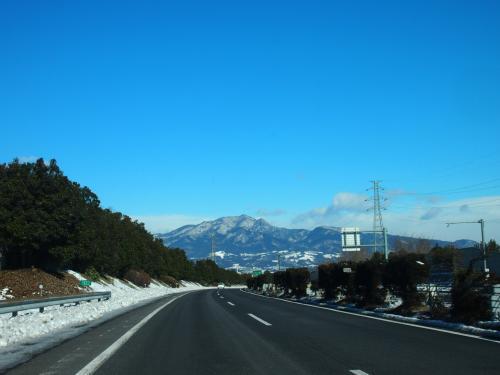 スノーボードの予定が雪景色の群馬ドライブになっちゃいました。。。