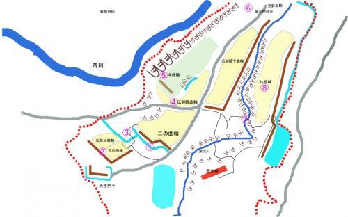 【鉢形城】荒川の断崖絶壁に聳える中世の城郭跡 日本百名城(18番)