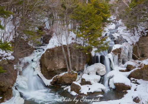 冬の日光、花火大会巡りと滝巡り