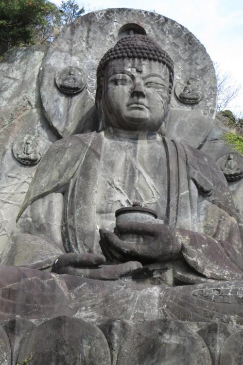 早春の千葉をドライブ~日本寺参拝・鋸山ハイキング