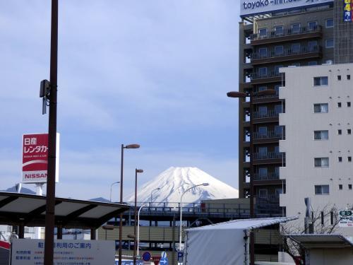 02.春の富士山 創業46周年 一楽の昼食