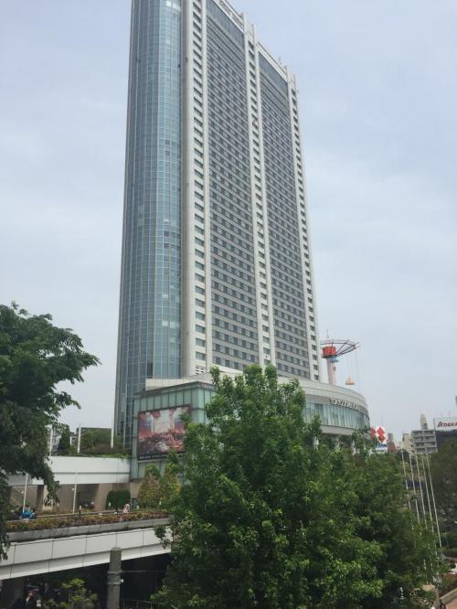 G.W.家族4人でホテルでランチを(at東京ドームホテル)