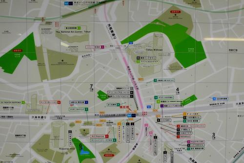 坂の多い六本木と元麻布の街歩き(東京)