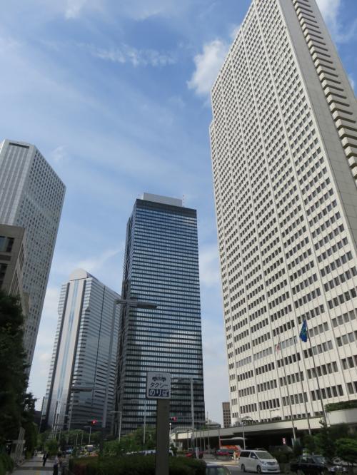 久しぶりに東京都庁展望台にあがる