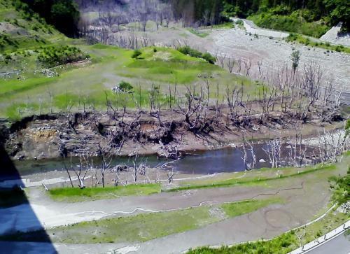 2016年6月湯西川温泉まで爽やかな風に誘われて森林浴を楽しみました。