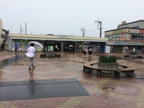 雨降る見沼田んぼをぶらり散歩
