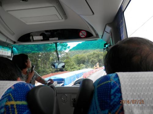 黒部ダム②2扇沢~トロリーバスで黒部ダム