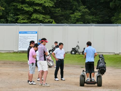 海の日にガリガリ君工場見学、富岡製糸場・こんにゃくパークも訪問、前日にはセグウェイでゴルフと盛りだくさんな連休