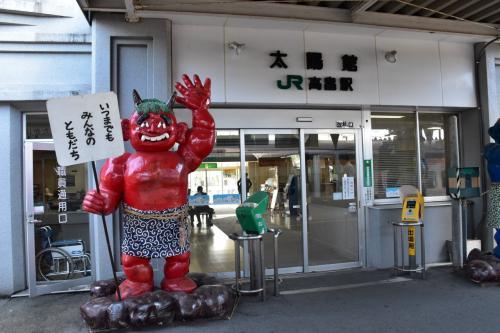 山形交通旧高畠駅の石造り駅舎を訪ねて(山形)