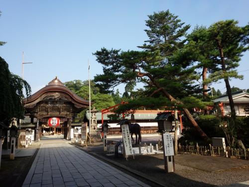 岩沼、名取市・旅竹駒神社と金蛇水神社、名取の朝市