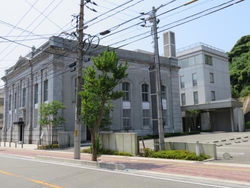山口銀行旧本店に初めて入館