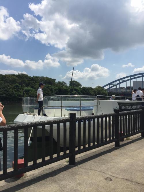 江東区リバークルーズ 今年は人工河川一周