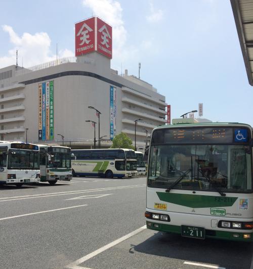 2016年8月 広島への旅(2日目-2)一路東へ