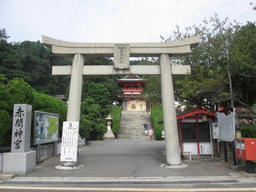 下関の唐戸・赤間神宮から関門トンネルを歩いて門司へ