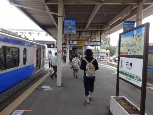 仙石東北ライン+震災不通区間BRT【その2】 石巻→復旧した女川駅→柳津へ