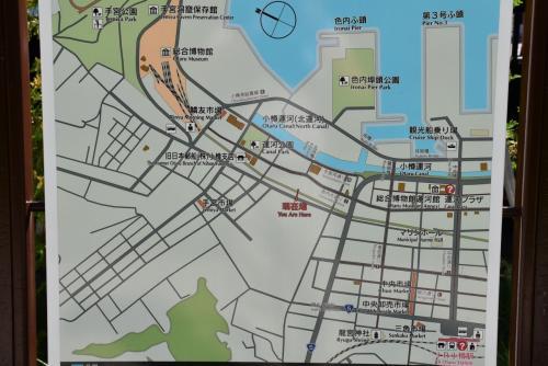 レトロな建物が並ぶ北運河と色内界隈の街歩き(小樽)
