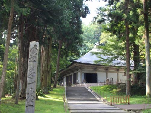 【2016年夏 北海道&東日本パス】その3 2日目‐2 文句言ってもいいですか?世界遺産の金鶏山~毛越寺