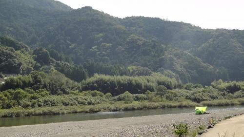 カヤックで仁淀川下り 本村キャンプ場から柳ヶ瀬まで