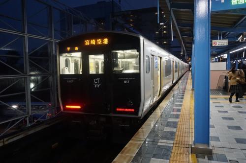 2017年旅初めは宮崎・鹿児島 2日目は枕崎線ぶらぶら 〆は鹿児島市で自販機のクレープ