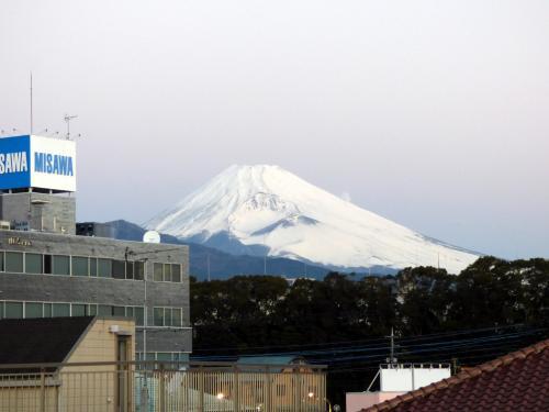 2017.01.11 早朝の富士山