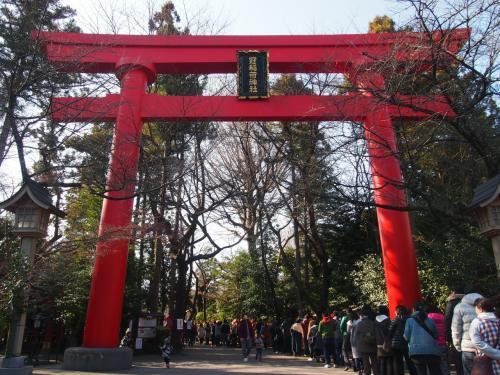 2017年も「冠稲荷神社」へ初詣