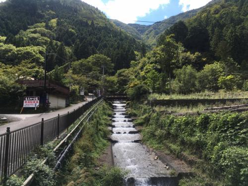 寸又峡、奥大井湖上駅